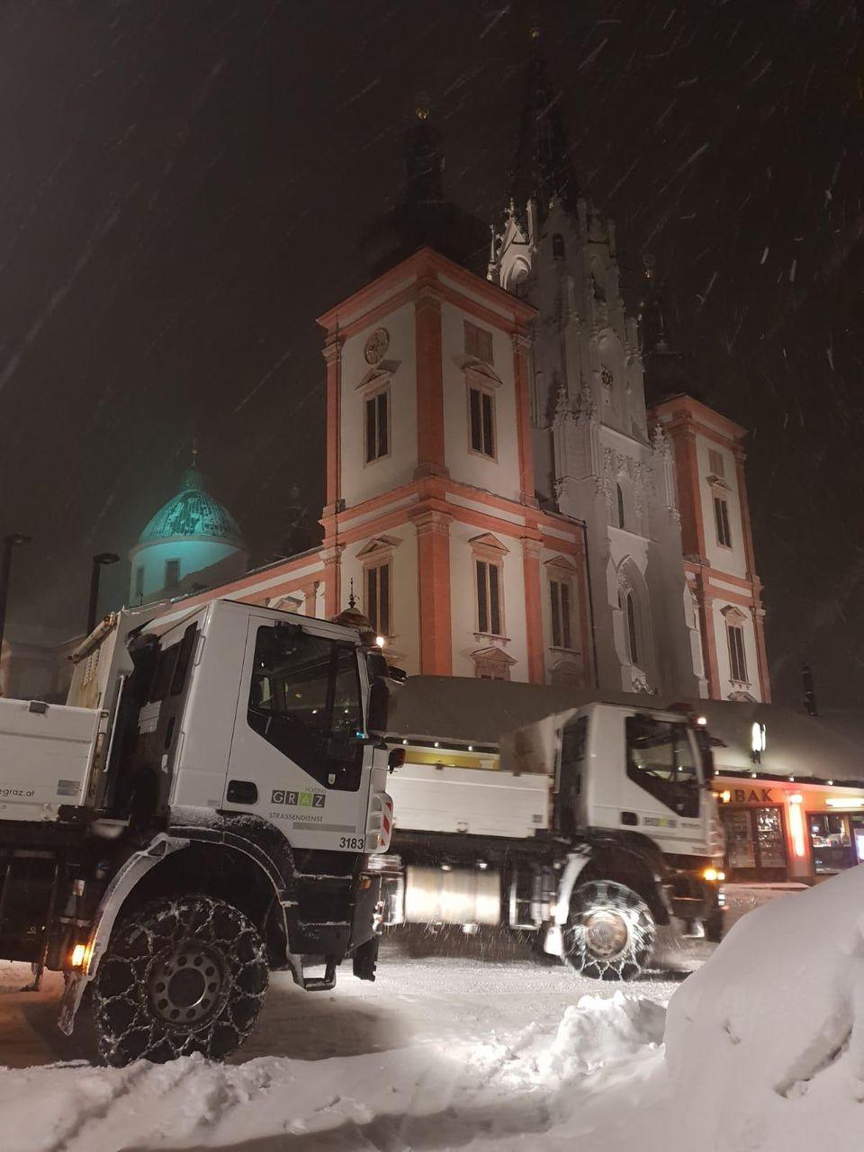 Steiermark Schneechaos