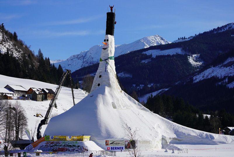 Größter Schneemann