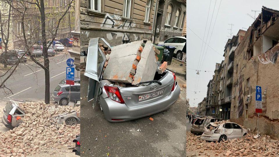 Erdbeben In Zagreb Antenne Steiermark